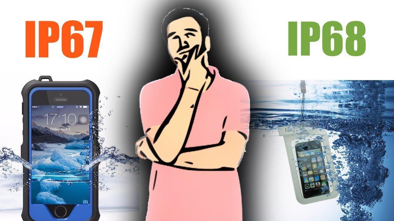 Отличия IP67 и IP68